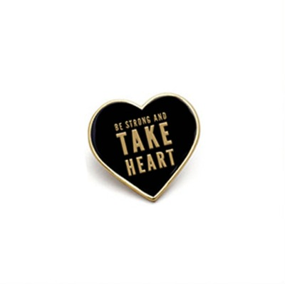 'Be Strong & Take Heart' Pin