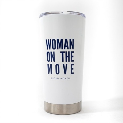 'Woman on the Move' Tumbler