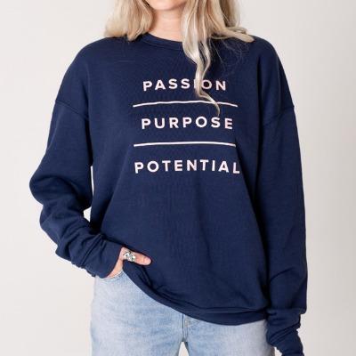 'Passion, Purpose, Potential' Sweatshirt