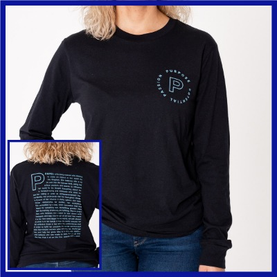 Propel Statement Long Sleeve Tee