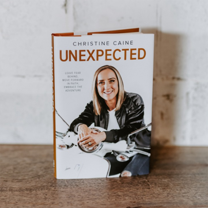 Unexpected Book by Christine Caine