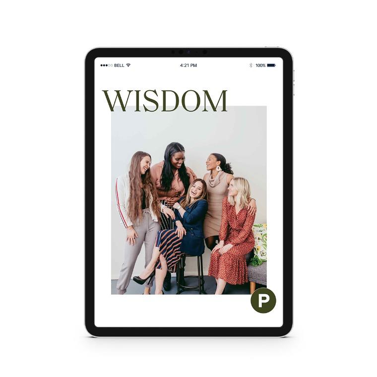 Propel Women group study - Wisdom Downloadable Workbook
