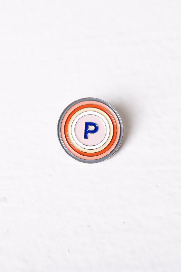 Logo Pin: Propel Circles