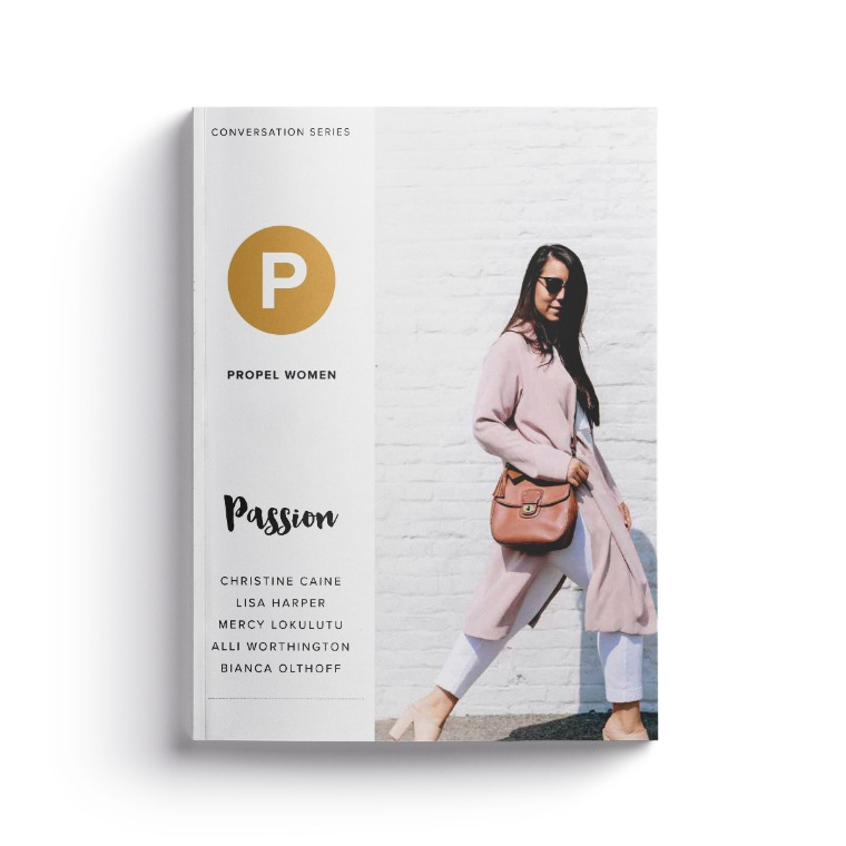 Propel Women group study - Passion workbook