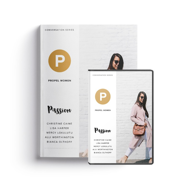 Propel Women group study - Passion Leader Kit (DVD and workbook)