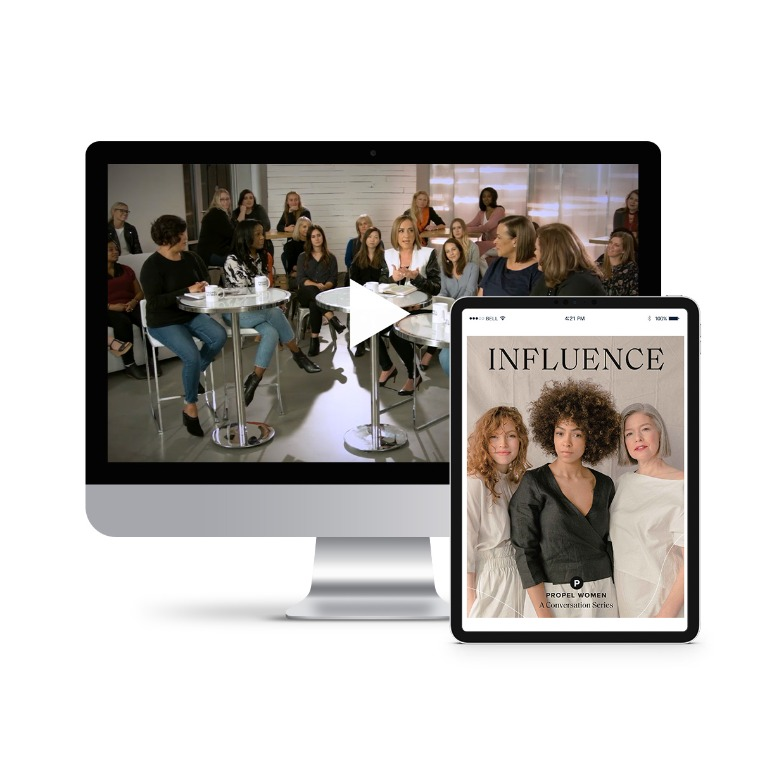 Propel Women group study - Influence Leader Kit (videos and downloadable workbook)