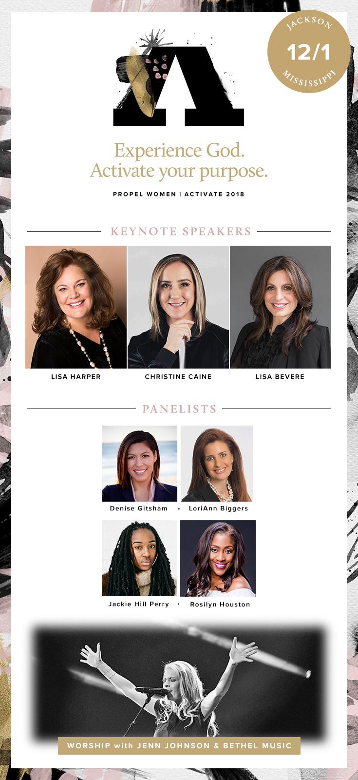 Jackson, MS Propel Women Activate 2018