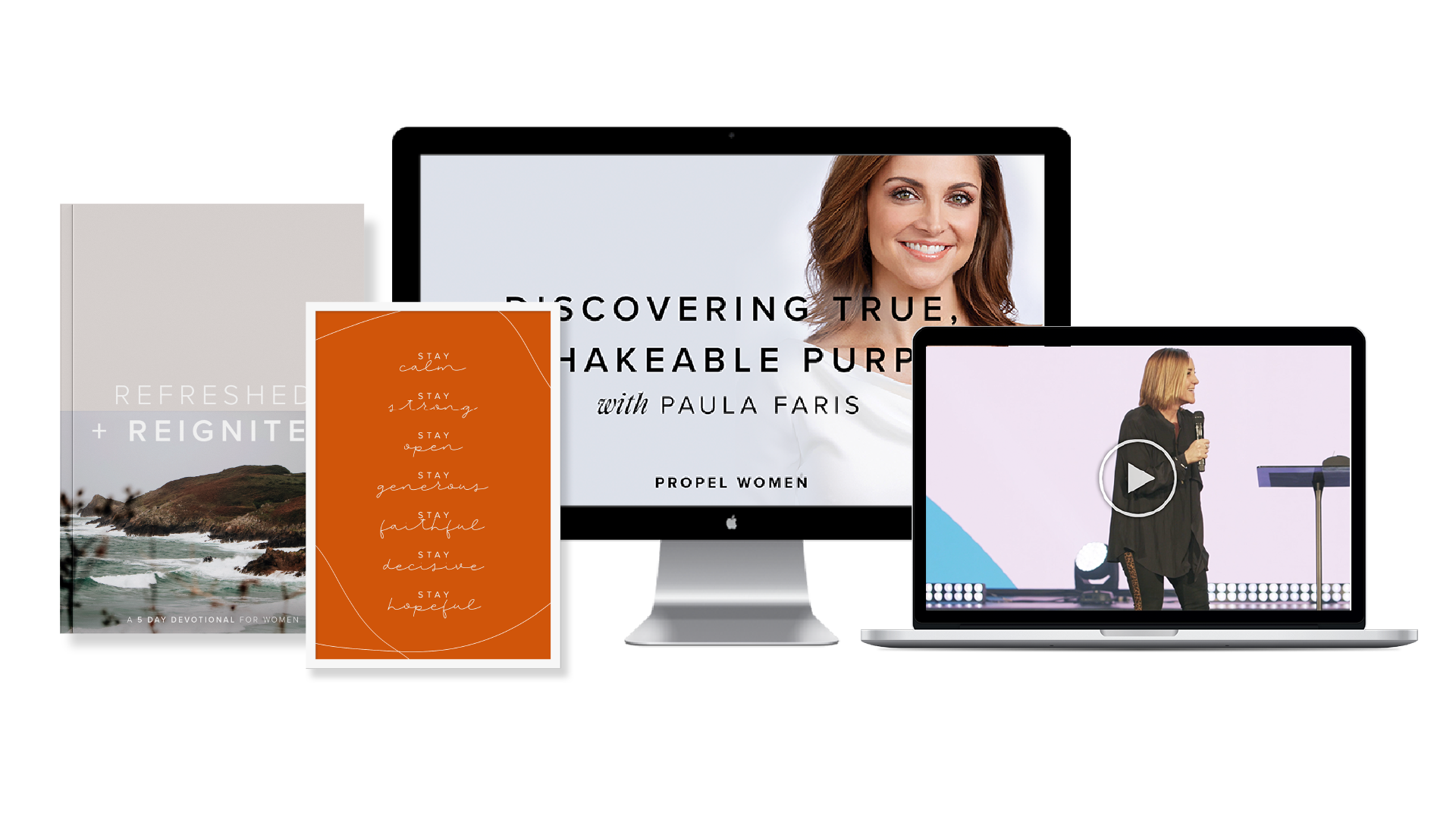 Bundle of Propel Devotional, Downloads, Videos, & online resources, digital wallpaper