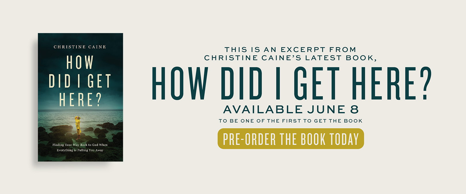 Christine Caine's Latest Book How Did I Get Here?