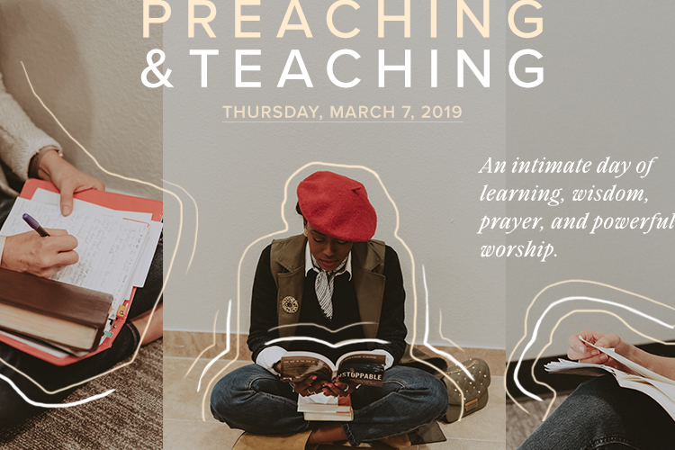 Preaching & Teaching Workshop