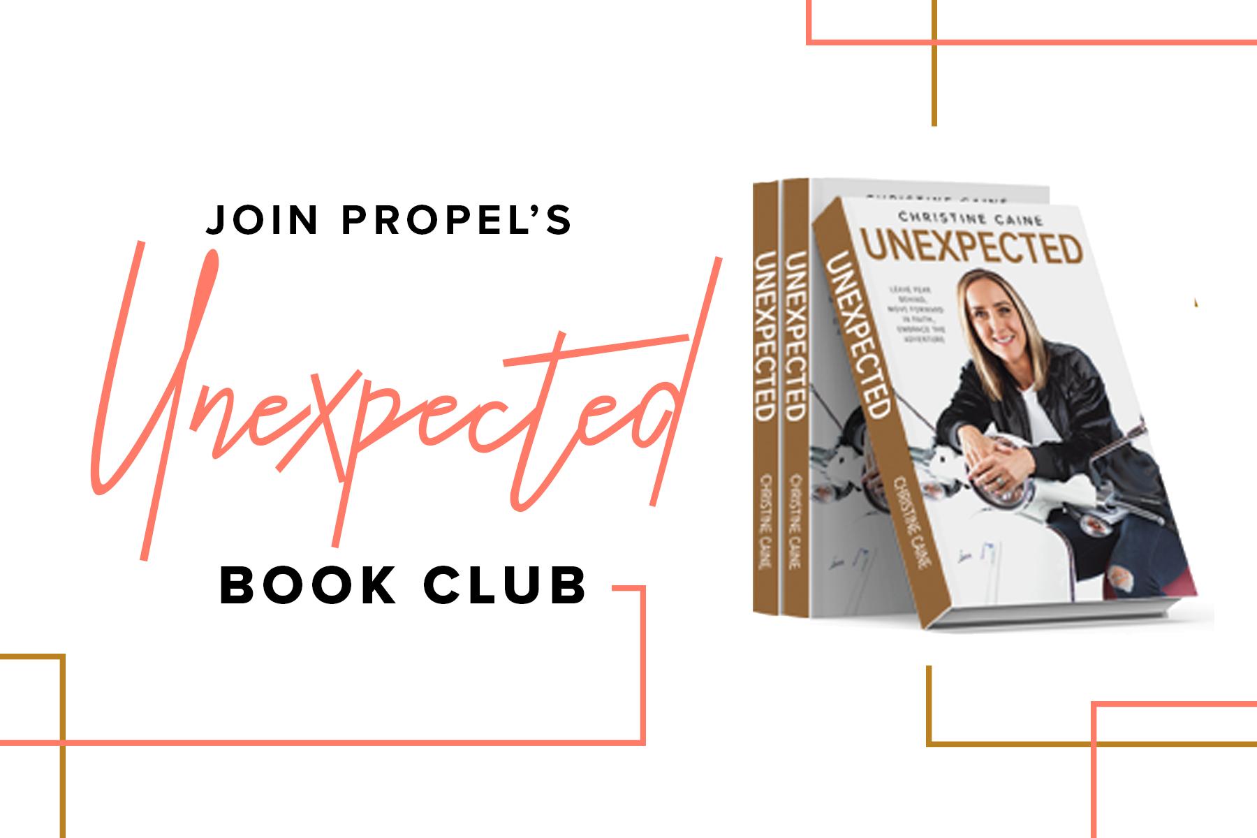 Unexpected Christine Caine Book Club