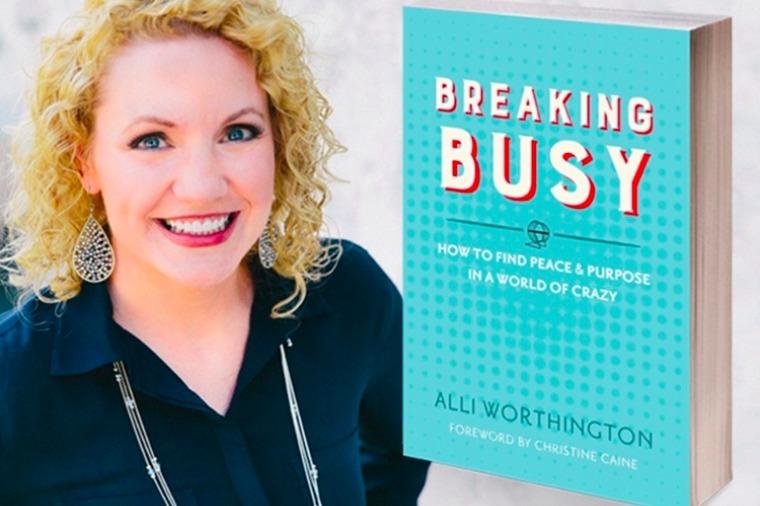 Breaking Busy Alli Worthington