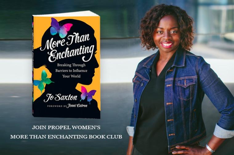 More Than Enchanting Jo Saxton