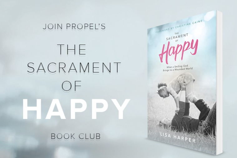 The Sacrament of Happy Lisa Harper