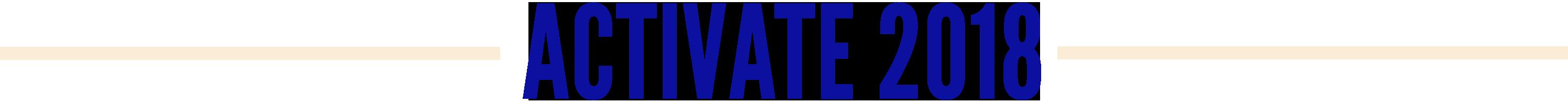 Activate 2018 RECAP